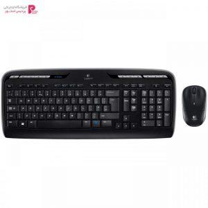 کیبورد و ماوس بی سیم لاجیتک مدل MK330 Logitech MK330 Wireless Keyboard and Mouse - 0