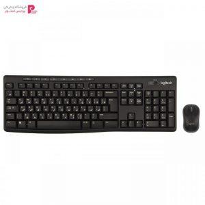 کیبورد و ماوس بیسیم لاجیتک مدل MK270 با حروف فارسی Logitech MK270 Wireless Keyboard and Mouse With Persian Letters - 0