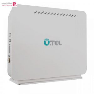 مودم روتر VDSL2/ADSL2 Plus بی سیم یوتل مدل V304F U.TEL V304F Wireless VDSL2/ADSL2 Plus Modem Router - 0