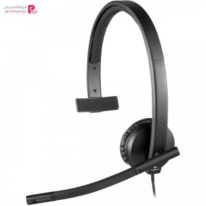 هدفون لاجیتک مدل H570E Mono Logitech H570E Mono Headphone - 0