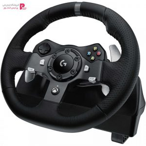 فرمان بازی لاجیتک مدل G920 Driving Force Logitech G920 Driving Force Racing Wheel - 0