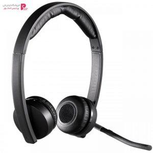 هدفون بی سیم لاجیتک مدل Dual H820E Logitech Dual H820E Headset - 0