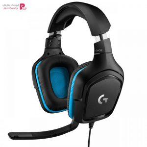 هدفون مخصوص بازی لاجیتک مدل G432 Logitech G432 Gaming Headphones - 0