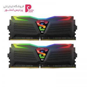 رم دسکتاپ DDR4 دو کاناله 3200 مگاهرتز CL16 گیل مدل SUPER LUCE RGB SYNC ظرفیت 16 گیگابایت - 0