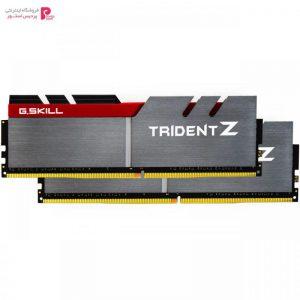 رم دسکتاپ DDR4 دو کاناله 3200 مگاهرتز CL16 جی اسکیل مدل Trident Z ظرفیت 16 گیگابایت - 0