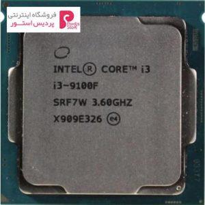 پردازنده مرکزی اینتل سری Coffee Lake مدل Core i3-9100F Tray - 0