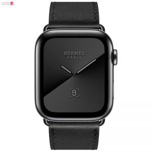 اپل واچ سری 5 مدل Hermès Space Stainless Steel Case 44mm
