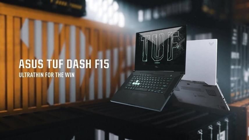 لپتاپ های ایسوس سری TUF ASUS TUF Dash F15