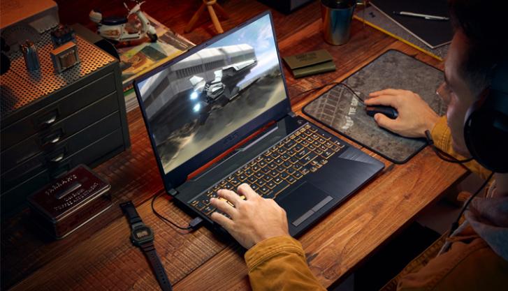لپتاپهای ایسوس TUF Gaming F15 و F17