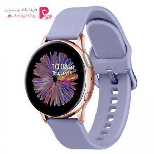 ساعت هوشمند سامسونگ Galaxy Watch Active2 40mm Lilac Band