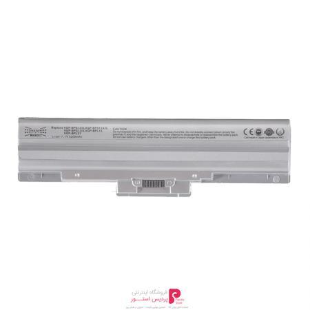 باتری لپ تاپ 6 سلولی مگاسل مناسب برای لپ تاپ Sony Vgp-Bps13