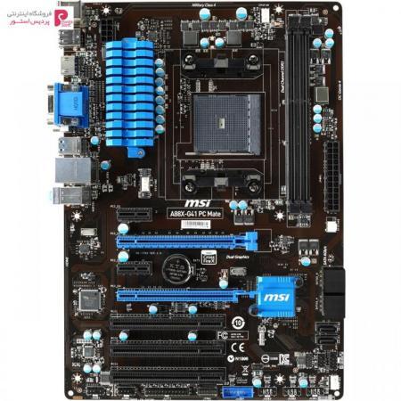 مادربرد ام اس آی مدل A88X-G41 PC Mate - 0