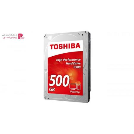 هارددیسک اینترنال توشیبا مدل P300 HDWD105EZSTA ظرفیت 500 گیگابایت - 0
