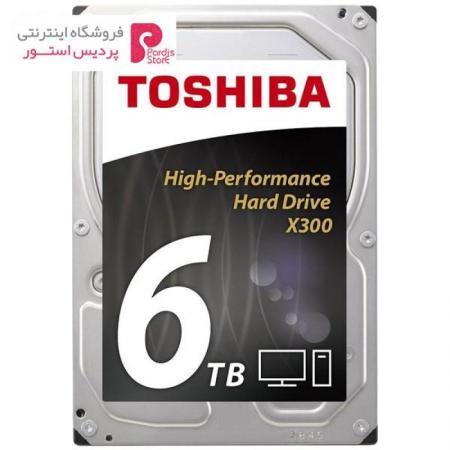 هارددیسک اینترنال توشیبا سری X300 مدل HDWE160EZSTA ظرفیت 6 ترابایت - 0