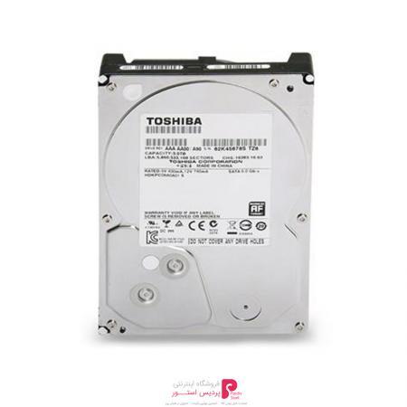 هارد دیسک اینترنال توشیبا DT01ACA200 ظرفیت 2 ترابایت 64 مگابایت کش