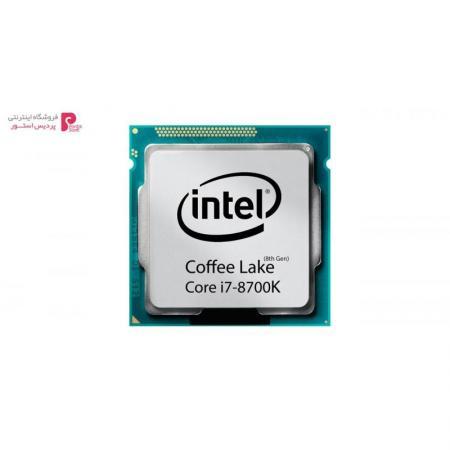 پردازنده مرکزی اینتل سری Coffee Lake مدل Core i7-8700K - 0