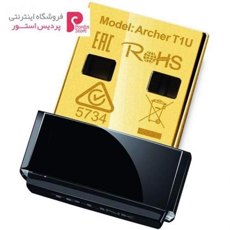 کارت شبکه USB بیسیم AC450 تی پی-لینک مدل Archer T1U - 0