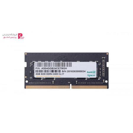 رم لپ تاپ DDR4 تک کاناله 2400 مگاهرتز اپیسر ظرفیت 4 گیگابایت - 0