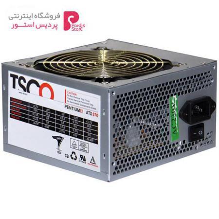 منبع تغذیه کامپیوتر تسکو مدل TP 570W - 0