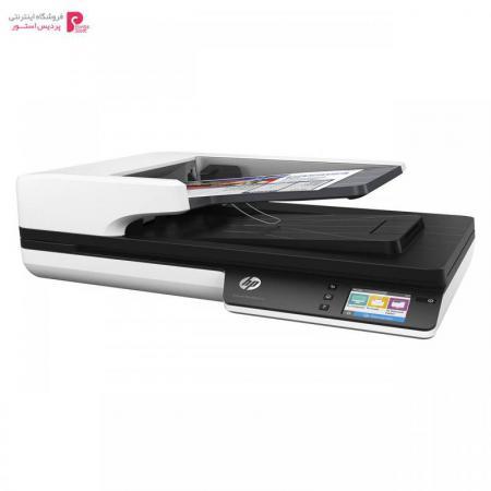 اسکنر اچ پی مدل 4500 fn1 HP 4500 fn1 ScanJet Pro Network Scanner - 0
