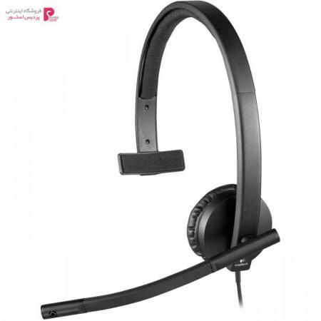 هدفون لاجیتک مدل H570E Mono Logitech H570E Mono Headphone - 0