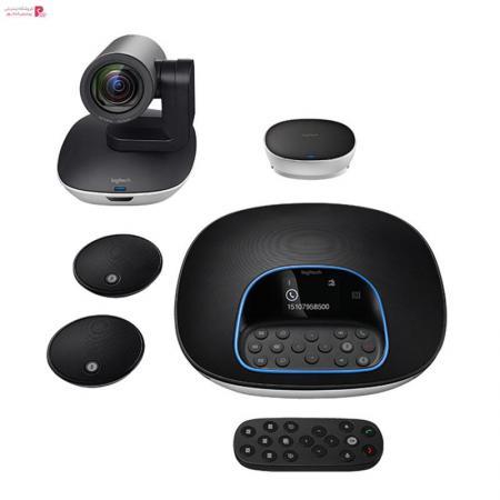 دوربین کنفرانس لاجیتک مدل GROUP به همراه میکروفون Logitech GROUP Conference Camera With Expansion Mics - 0