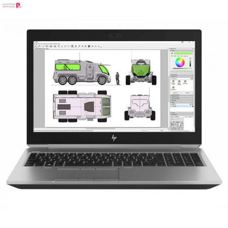 لپ تاپ 15 اینچی اچ پی مدل ZBook 15 G6 Mobile Workstation-A2 - 0